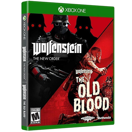 Wolfenstein The Two Pack, The New Order AND The Old Blood - XBox One Game gaming games paixnidia xbox one