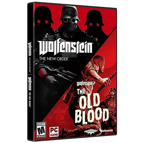 Wolfenstein The Two Pack, The New Order AND The Old Blood - PC Game gaming games paixnidia pc
