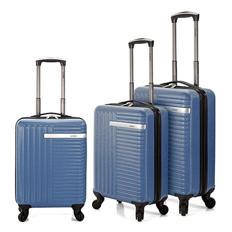 8e739d176a Σετ 3τμχ Βαλίτσες Τρόλεϊ Benzi BZ5161 3 Μπλε Γκρι Online αγορά από  Shop365  €187. Βαλίτσα Καμπίνας ...