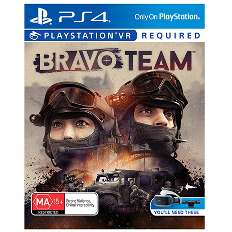 Bravo Team (VR) - PS4 Game gaming games paixnidia ps4