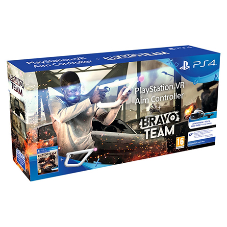 Bravo Team & Aim Controller (VR) - PS4 Game gaming games paixnidia ps4