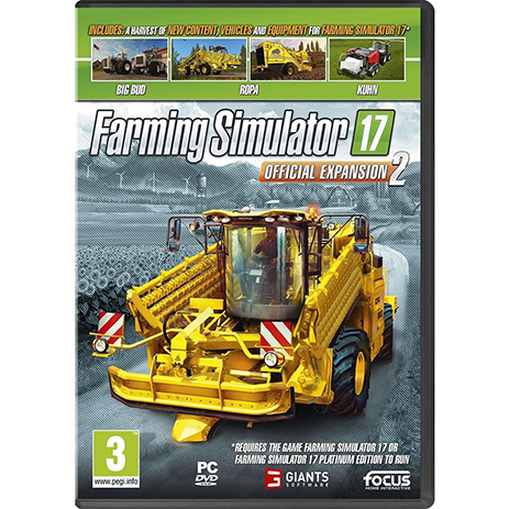 Farming Simulator 17 Official Expansion 2 - PC Game gaming games paixnidia pc