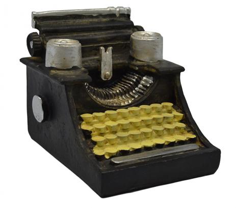 Διακοσμητική Γραφομηχανή Πολυεστερική 10,5x8,5x8cm (774685) paixnidia hobby gadgets diakosmhtika