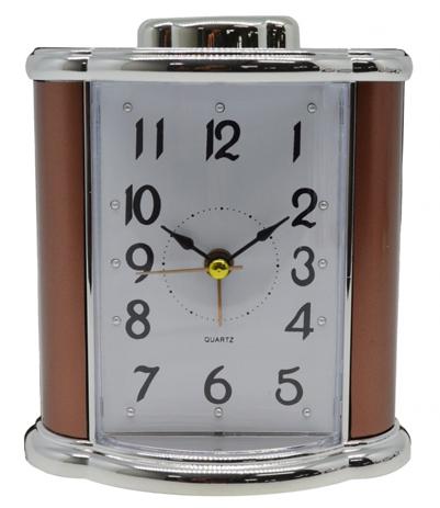 Ρολόι-Ξυπνητήρι 772421 Μπρονζέ-Ασημί hlektrikes syskeyes texnologia eikona hxos radiocdhi fi