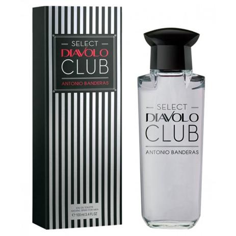 Antonio Banderas Select Diavolo Club Eau de Toilette 100ml fashion365 aromata andrika aromata