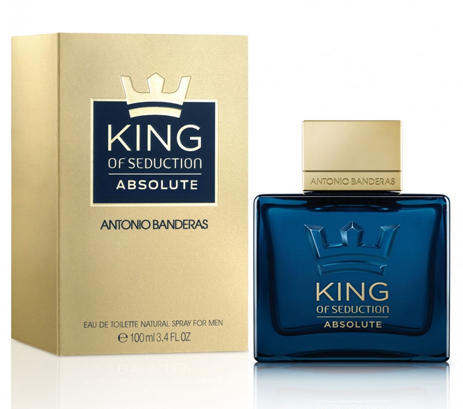 Antonio Banderas King Of Seduction Absolute Eau de Toilette 100ml fashion365 aromata andrika aromata