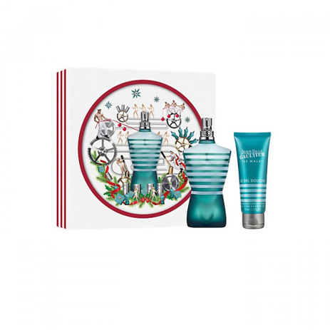 Jean Paul Gaultier Le Male Eau de Toilette 125ml & Shower Gel 75ml Gift Set fashion365 aromata andrika aromata