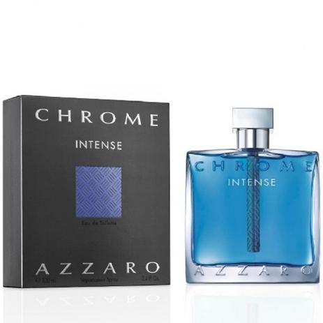 Azzaro Chrome Intense Eau de Toilette 100ml fashion365 aromata andrika aromata