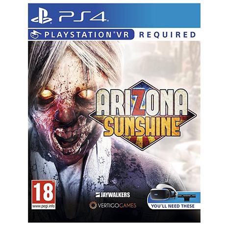 Arizona Sunshine (VR) - PS4 Game gaming games paixnidia ps4