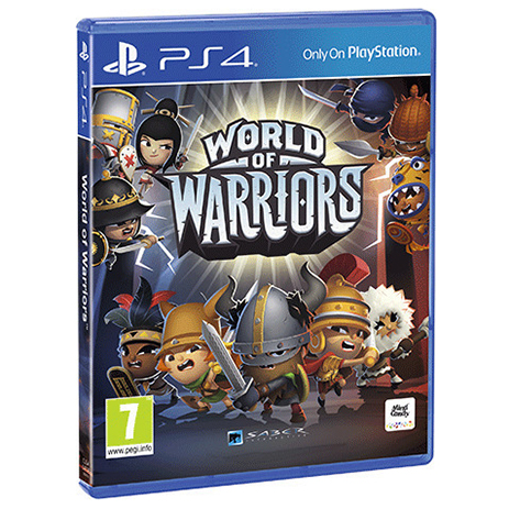 World Of Warriors - PS4 Game gaming games paixnidia ps4