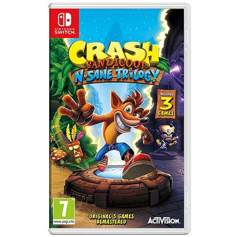 Crash Bandicoot N. Sane Trilogy - Nintendo Switch Game gaming games paixnidia nintendo switch