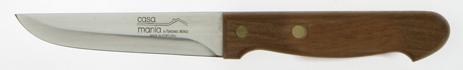 Μαχαίρι Κρέατος Icel Νο 3101 με Ξύλινη Λαβή & Μήκος Λεπίδας 12εκ. Πορτογαλίας