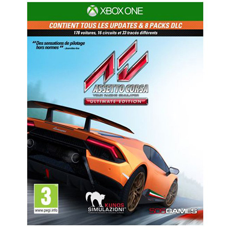 Assetto Corsa Ultimate Edition - XBox One Game gaming games paixnidia xbox one