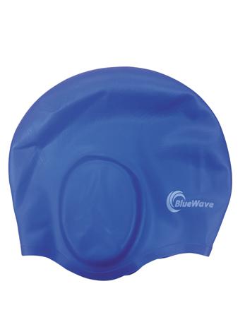Σκουφάκι Κολύμβησης Σιλικόνης Με Προστατευτικό Αυτιών Bluewave 66209 khpos outdoor camping epoxiaka camping ajesoyar paralias