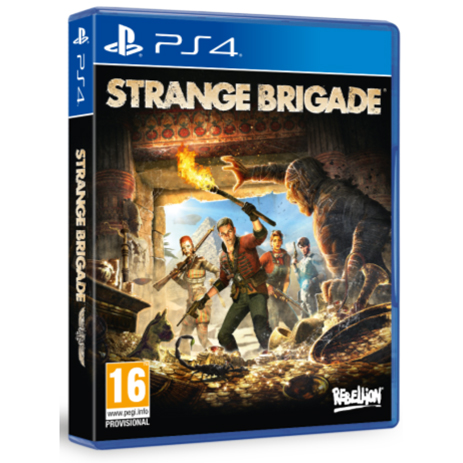 Strange Brigade - PS4 Game gaming games paixnidia ps4