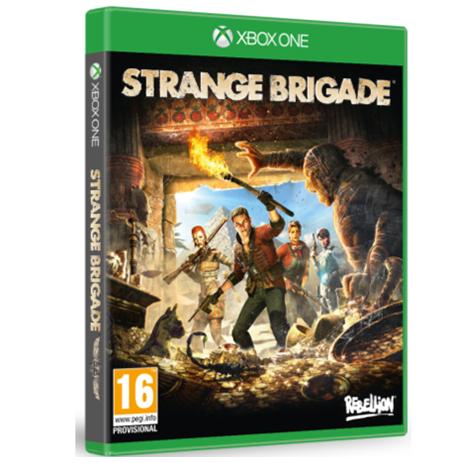 Strange Brigade - XBox One Game gaming games paixnidia xbox one