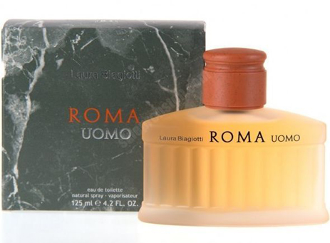 Laura Biagiotti Roma Uomo Eau de Toilette 125ml fashion365 aromata andrika aromata