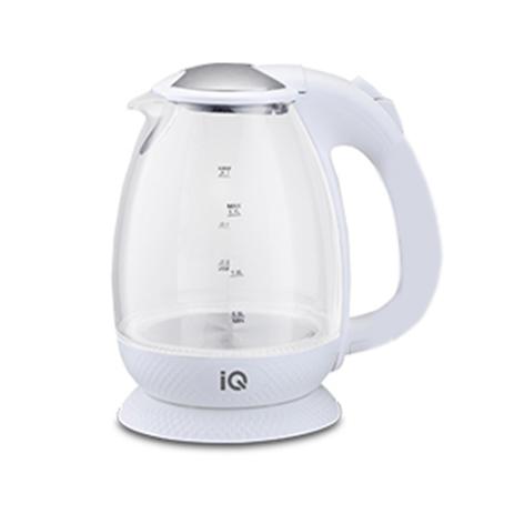 Γυάλινος Βραστήρας IQ ΕΚ-261 Λευκός