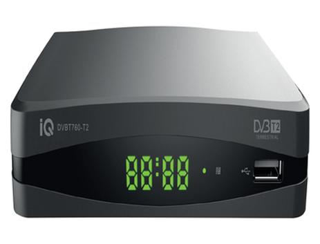 Αποκωδικοποιητής IQ DVB-T760 hlektrikes syskeyes texnologia oikiakes syskeyes apokodikopoihtes mpeg4