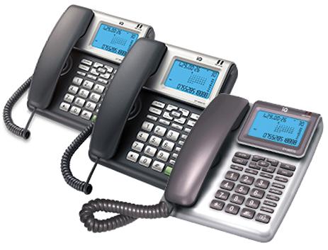 Τηλέφωνο Ενσύρματο IQ DT-860 hlektrikes syskeyes texnologia stauerh thlefonia thlefona