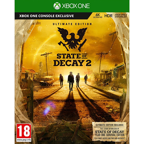 State of Decay 2 Ultimate Edition - XBox One Game + Preorder Bonus gaming games paixnidia xbox one