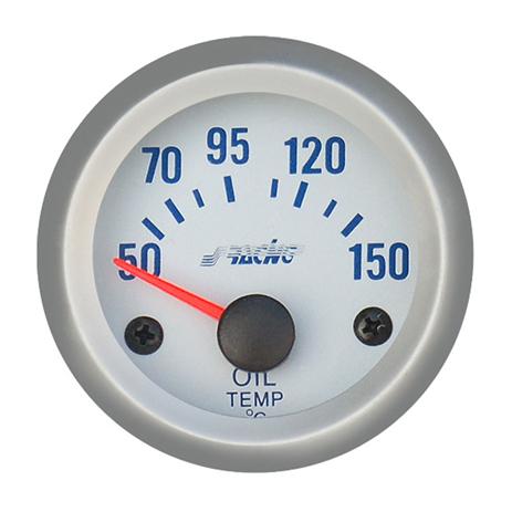 Όργανο Θερμοκρασίας Λαδιού Simoni Racing ΟΡΓ/OT/SB Λευκό aytokinhto mhxanh esoteriko aytokinhtoy organa metrhshs
