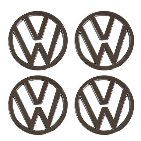 Τάπες Κέντρου Ζάντας VW Χρώμιο/Γκρι Κουμπωτές Διαμέτρου 59mm Americat ΤΑΠ.VW 4τμ aytokinhto mhxanh troxoi diakosmhsh