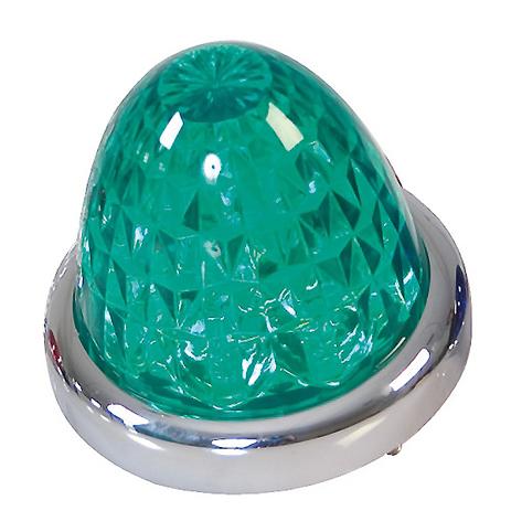 Λαμπάκι Οροφής 9LED 24V Lampa L9816.3 Πράσινο aytokinhto mhxanh ejoteriko forthgoy diakosmhtika fota