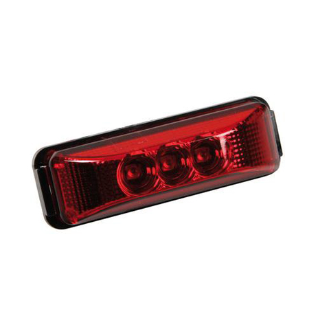 Φως Φορτηγού 3LED 24V Lampa L9887.5 Κόκκινο aytokinhto mhxanh ejoteriko forthgoy diakosmhtika fota