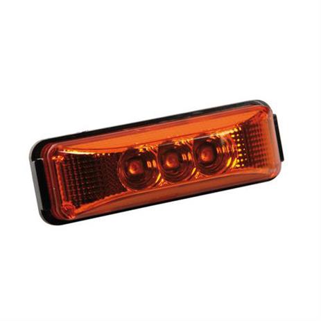 Φως Φορτηγού 3LED 24V Lampa L9887.6 Πορτοκαλί aytokinhto mhxanh ejoteriko forthgoy diakosmhtika fota