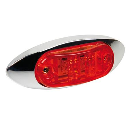 Φως Φορτηγού 2LED 24V Lampa L9848.1 Κόκκινο aytokinhto mhxanh ejoteriko forthgoy diakosmhtika fota