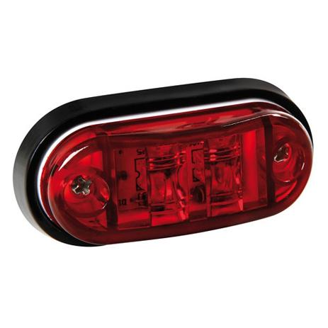 Φως Φορτηγού 2LED 24V Lampa L9848.3 Κόκκινο aytokinhto mhxanh ejoteriko forthgoy diakosmhtika fota