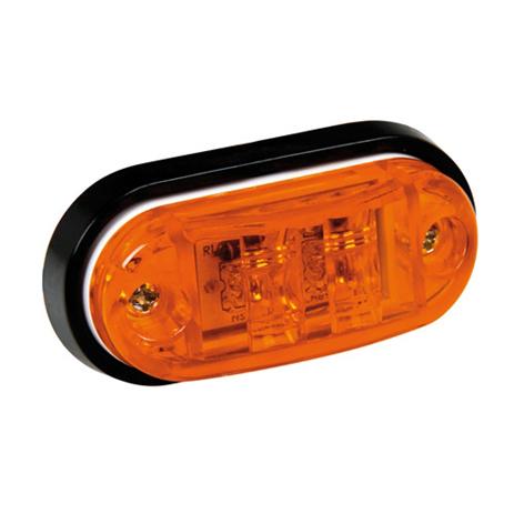 Φως Φορτηγού 2LED 24V Lampa L9848.2 Πορτοκαλί aytokinhto mhxanh ejoteriko forthgoy diakosmhtika fota