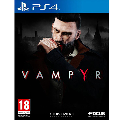 Vampyr - PS4 Game gaming games paixnidia ps4