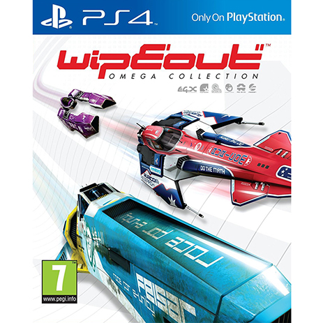 Wipeout: Omega Collection - PS4 Game gaming games paixnidia ps4