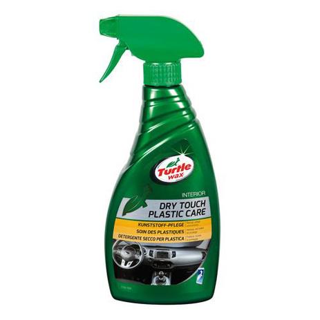 Γυαλιστικό Πλαστικών Dry Touch Green Line Turtle Wax ΧΕ.ΧΜ.L38506/TW 500ml aytokinhto mhxanh frontida aytokinhtoy gyalistika