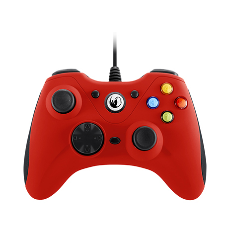 Χειριστήριο Ενσύρματο Nacon Game Controller PCGC-100 Red gaming perifereiaka gaming pc xeiristhria