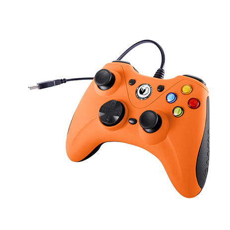 Χειριστήριο Ενσύρματο Nacon Game Controller PCGC-100 Orange gaming perifereiaka gaming pc xeiristhria