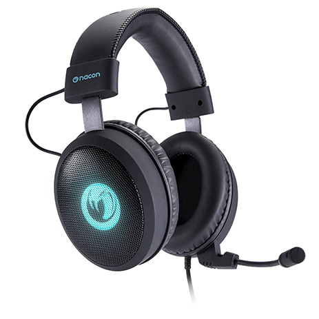 Headset Gaming Virtual Surround 7.1 Nacon PCGH-300SR gaming perifereiaka gaming pc akoystika