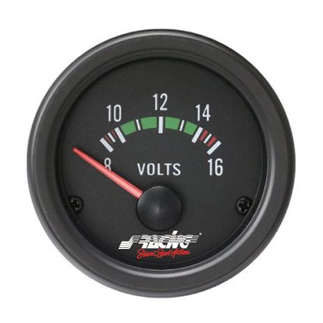 Βολτόμετρο 52mm Simoni Racing ΟΡΓ/VM/B Μαύρο aytokinhto mhxanh esoteriko aytokinhtoy organa metrhshs