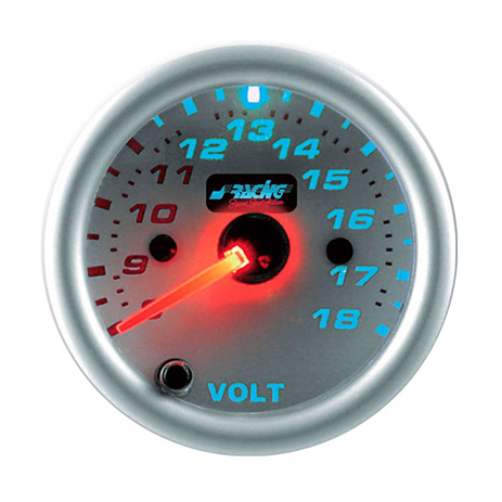 Βολτόμετρο 52mm Simoni Racing ΟΡΓ/VM/R7 7 Χρωμάτων aytokinhto mhxanh esoteriko aytokinhtoy organa metrhshs