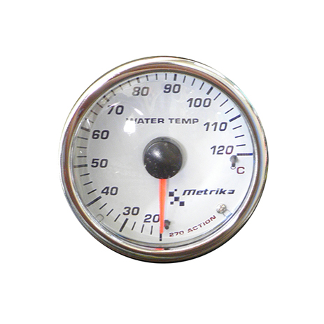 Όργανο Θερμοκρασίας Νερού Serie 270 Isotta IS-MK2WTCACT Λευκό aytokinhto mhxanh esoteriko aytokinhtoy organa metrhshs