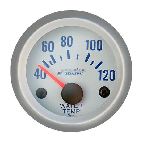 Όργανο Θερμοκρασίας Νερού Simoni Racing ΟΡΓ/WT/SB Λευκό aytokinhto mhxanh esoteriko aytokinhtoy organa metrhshs