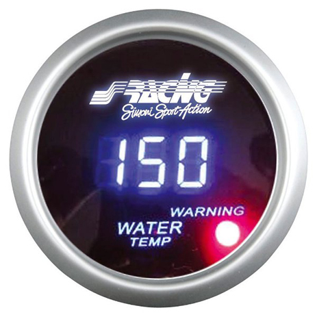Όργανο Θερμοκρασίας Νερού Ψηφιακό Simoni Racing ΟΡΓ/WT/D aytokinhto mhxanh esoteriko aytokinhtoy organa metrhshs