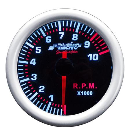 Στροφόμετρο Simoni Racing ΟΡΓ/TM/A Κόκκινος Φωτισμός aytokinhto mhxanh esoteriko aytokinhtoy organa metrhshs