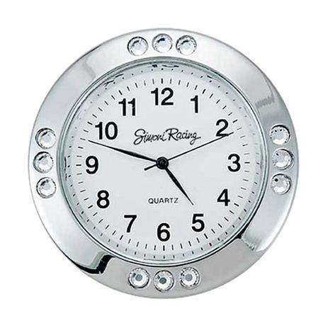 Ρολόι με Strass Στρογγυλό Simoni Racing SRSC/1X aytokinhto mhxanh esoteriko aytokinhtoy organa metrhshs