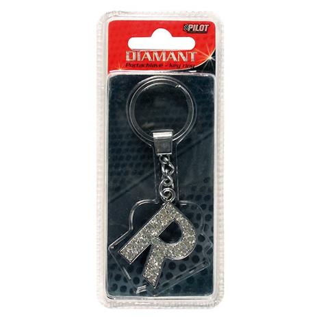 Μπρελόκ Κλειδιών Γράμμα R Lampa L6506.8 aytokinhto mhxanh esoteriko aytokinhtoy mprelok