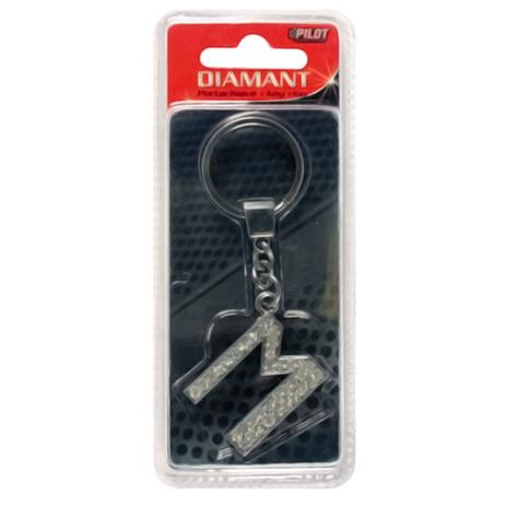 Μπρελόκ Κλειδιών Γράμμα M Lampa L6506.3