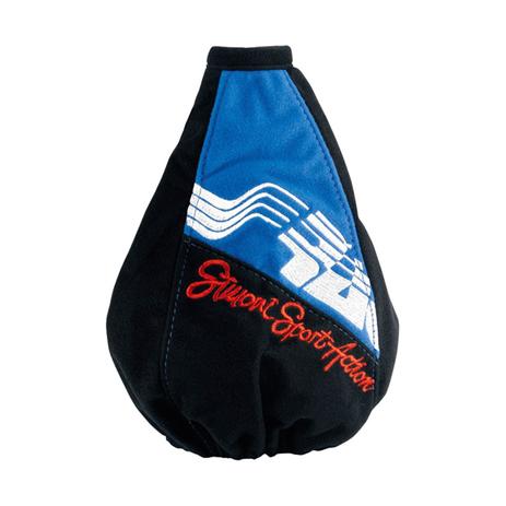 Φούσκα Ταχύτητας Cut Σουετ Simoni Racing SRC6112/A Μαύρη/Μπλε aytokinhto mhxanh taxythtes xeirofreno foyskes taxythton