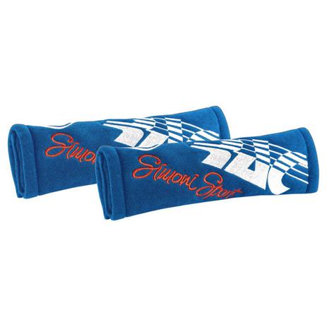 Μαξιλάρακια Ζώνης Cut Microfibra Simoni Racing SRCC3/B Μπλε, 2τμχ aytokinhto mhxanh esoteriko aytokinhtoy majilarakia zonhs